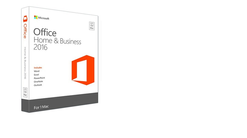 Microsoft : Microsoft Office for Mac Home & Business 2016